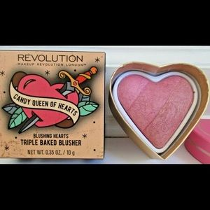 Makeup revolution triple baked blusher